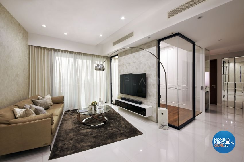 Contemporary, Modern, Scandinavian Design - Living Room - Condominium - Design by Edgeline Planners Pte Ltd