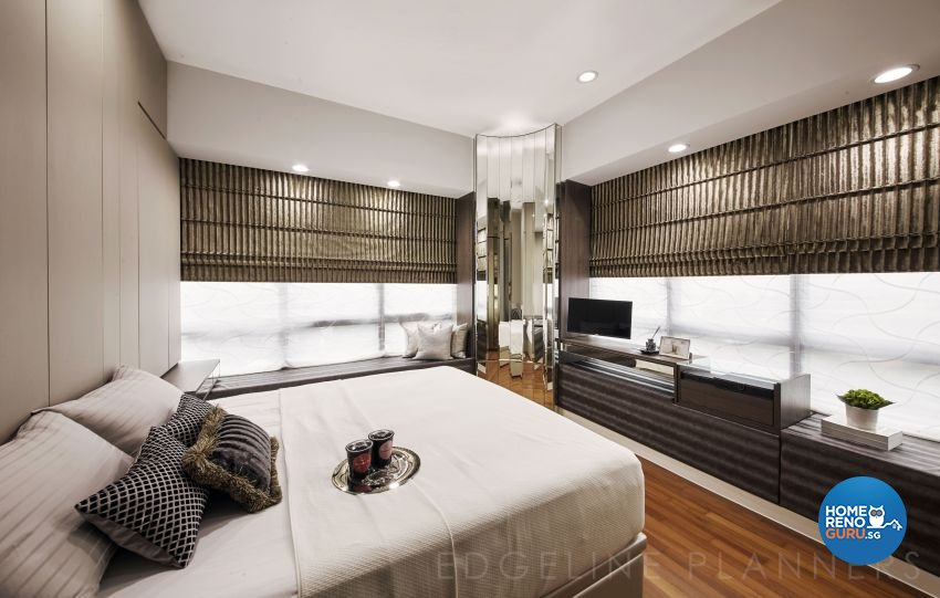 Contemporary, Modern, Scandinavian Design - Bedroom - Condominium - Design by Edgeline Planners Pte Ltd