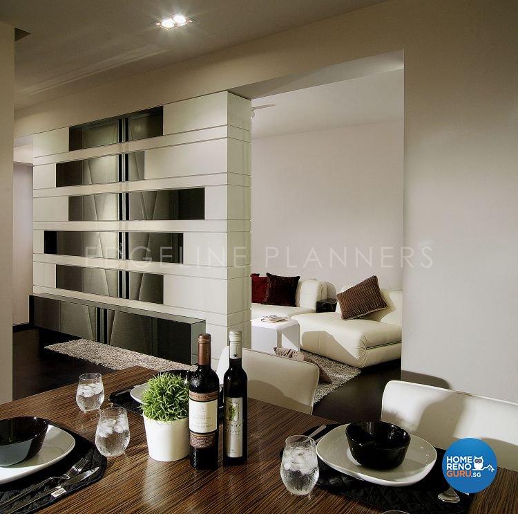 Contemporary, Modern Design - Living Room - HDB 3 Room - Design by Edgeline Planners Pte Ltd