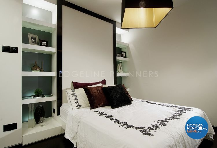 Contemporary, Modern Design - Bedroom - HDB 3 Room - Design by Edgeline Planners Pte Ltd