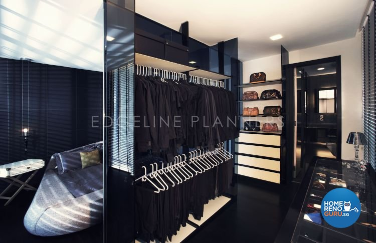 Minimalist, Modern Design - Bedroom - Landed House - Design by Edgeline Planners Pte Ltd