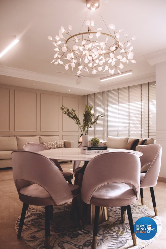 Classical, Modern Design - Dining Room - Condominium - Design by Edgeline Planners Pte Ltd