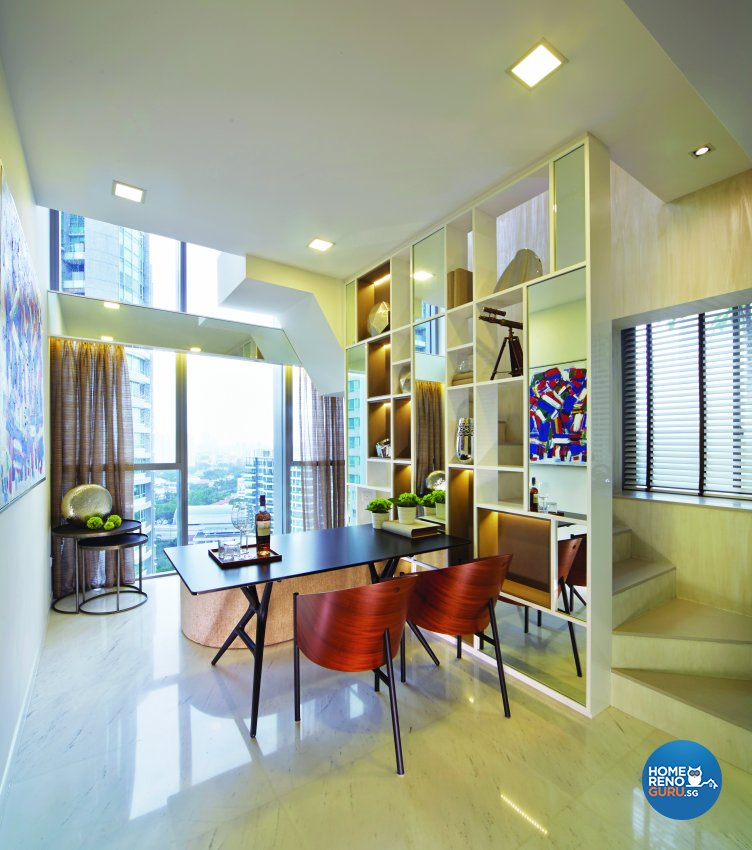 Contemporary, Modern, Scandinavian Design - Dining Room - Condominium - Design by Edgeline Planners Pte Ltd
