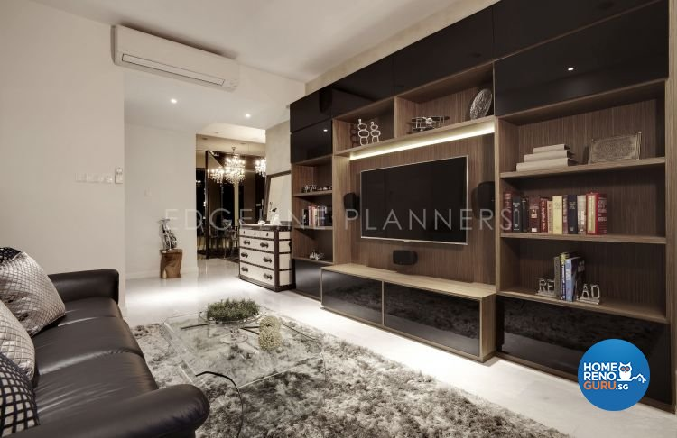 Contemporary, Modern Design - Living Room - Condominium - Design by Edgeline Planners Pte Ltd