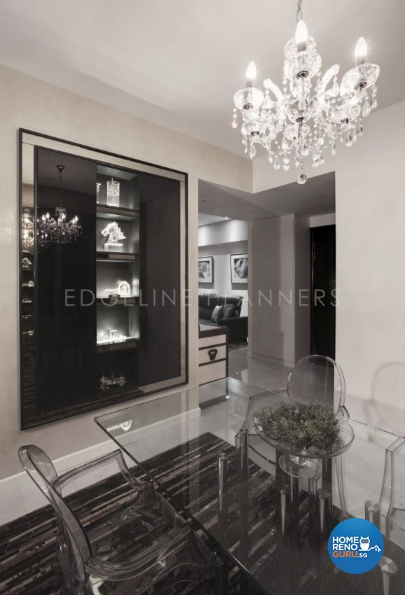 Contemporary, Modern Design - Dining Room - Condominium - Design by Edgeline Planners Pte Ltd