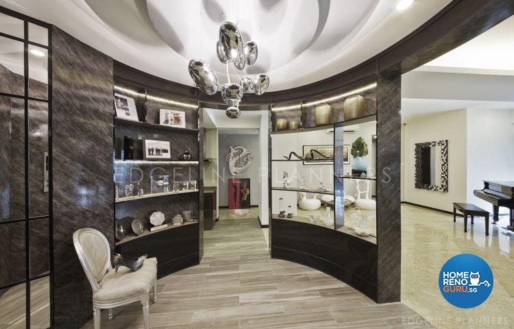 Contemporary Design - Living Room - Condominium - Design by Edgeline Planners Pte Ltd