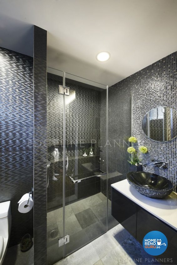 Contemporary Design - Bathroom - Condominium - Design by Edgeline Planners Pte Ltd