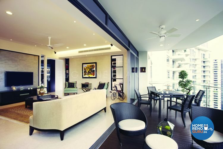 Classical, Victorian Design - Living Room - Condominium - Design by Edgeline Planners Pte Ltd