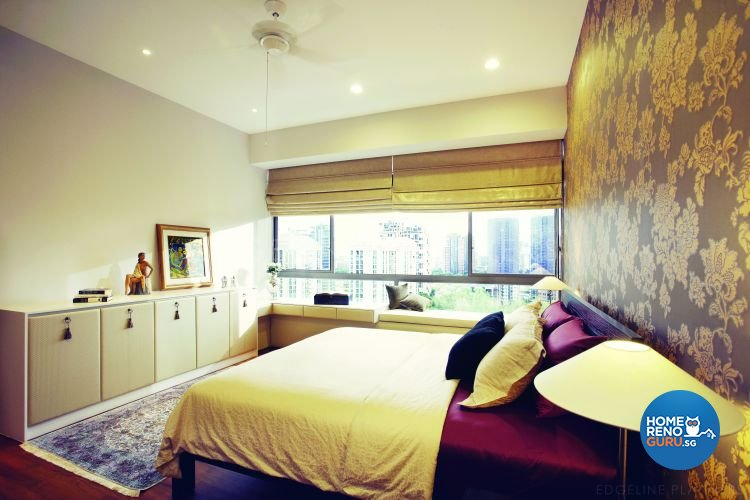 Classical, Victorian Design - Bedroom - Condominium - Design by Edgeline Planners Pte Ltd