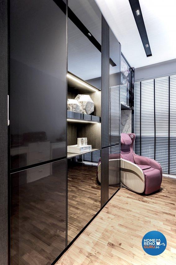 Contemporary Design - Bedroom - Condominium - Design by Edgeline Planners Pte Ltd