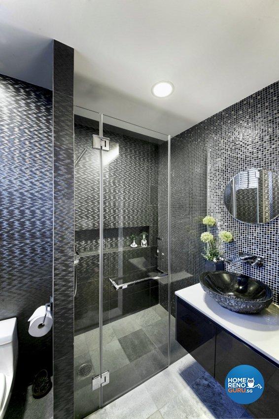 Modern Design - Bathroom - Condominium - Design by Edgeline Planners Pte Ltd