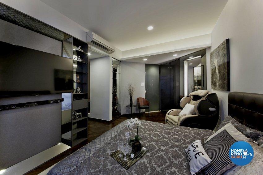 Modern Design - Bedroom - Condominium - Design by Edgeline Planners Pte Ltd