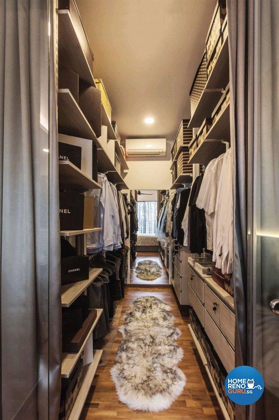 Contemporary Design - Bedroom - Landed House - Design by Edgeline Planners Pte Ltd