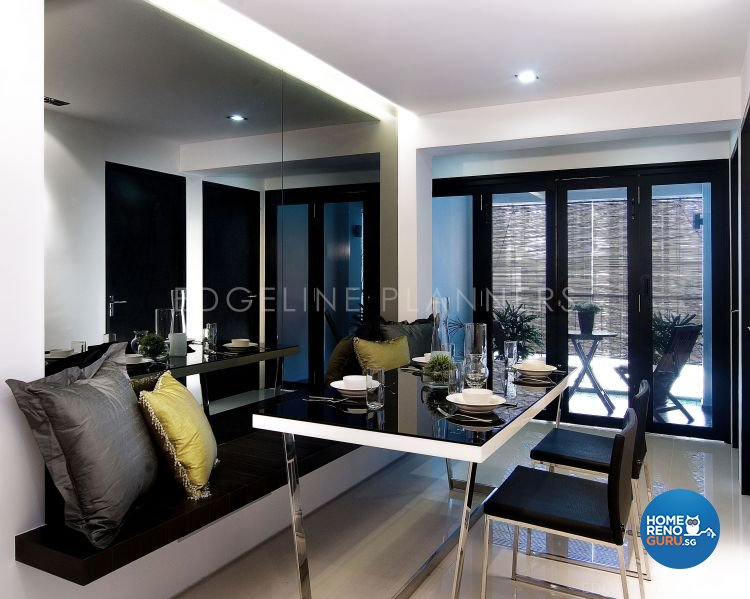Minimalist, Modern Design - Dining Room - HDB 5 Room - Design by Edgeline Planners Pte Ltd