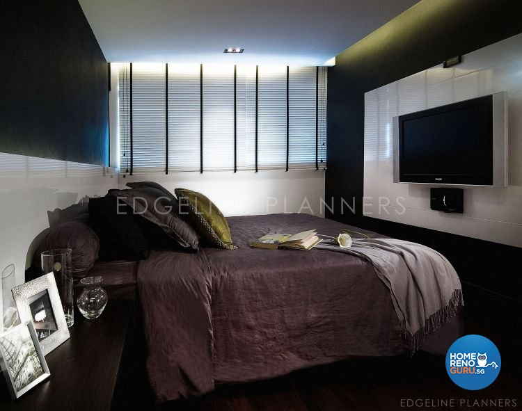 Minimalist, Modern Design - Bedroom - HDB 5 Room - Design by Edgeline Planners Pte Ltd