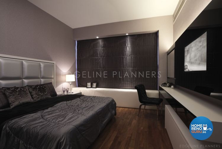 Contemporary, Minimalist, Modern Design - Bedroom - Landed House - Design by Edgeline Planners Pte Ltd