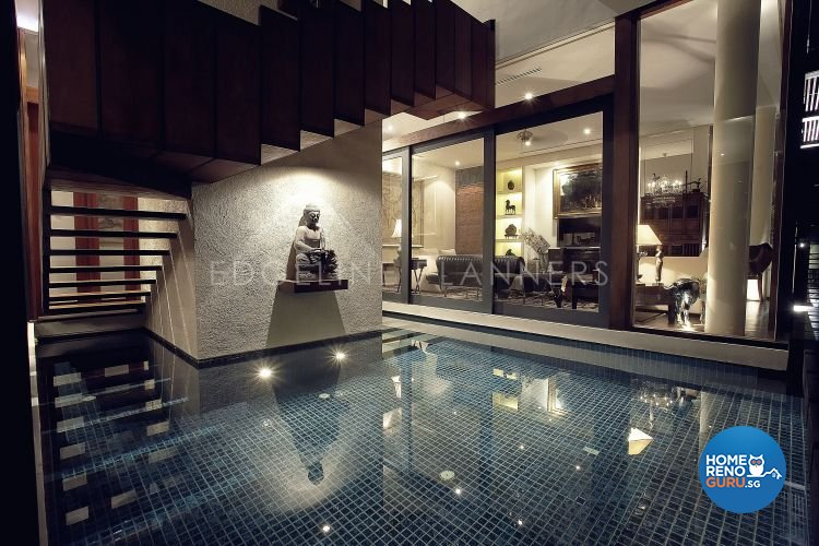 Country, Rustic, Tropical Design - Garden - Landed House - Design by Edgeline Planners Pte Ltd
