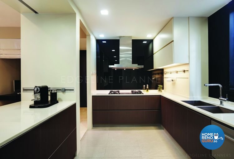 Classical, Contemporary Design - Kitchen - Condominium - Design by Edgeline Planners Pte Ltd