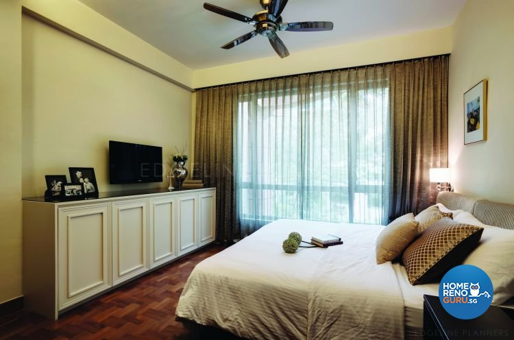 Classical, Contemporary Design - Bedroom - Condominium - Design by Edgeline Planners Pte Ltd