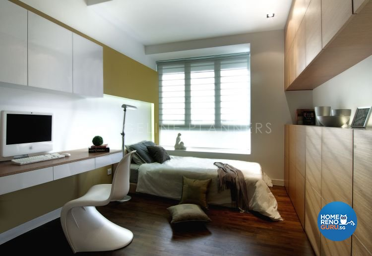 Contemporary, Modern Design - Bedroom - Condominium - Design by Edgeline Planners Pte Ltd