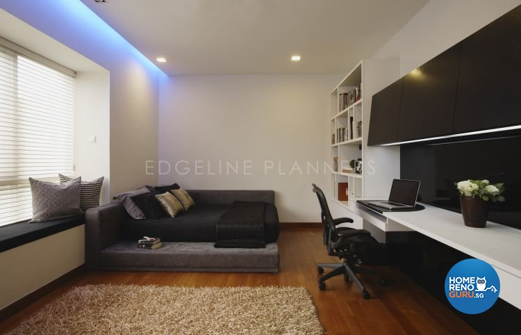 Contemporary, Modern Design - Bedroom - Landed House - Design by Edgeline Planners Pte Ltd