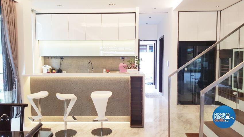Modern Design - Kitchen - Landed House - Design by E+e Design & Build