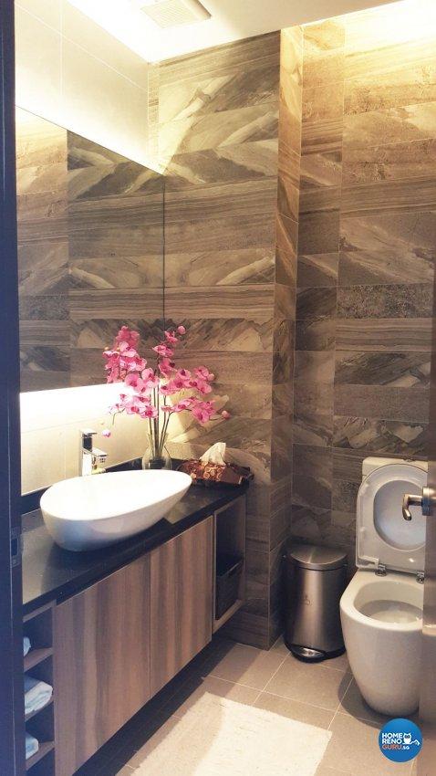 Modern Design - Bathroom - Landed House - Design by E+e Design & Build