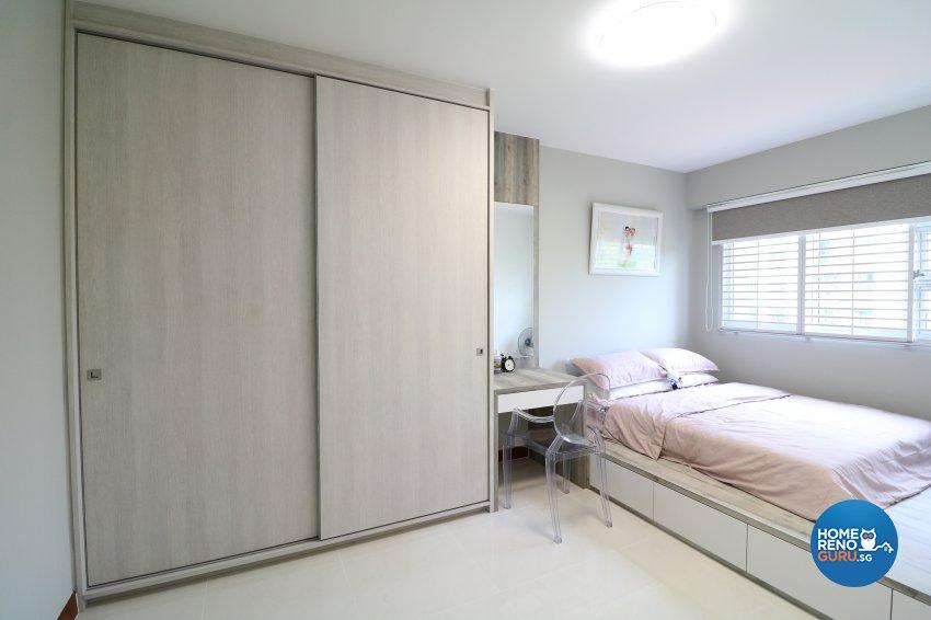Industrial, Scandinavian Design - Bedroom - HDB 5 Room - Design by E+e Design & Build