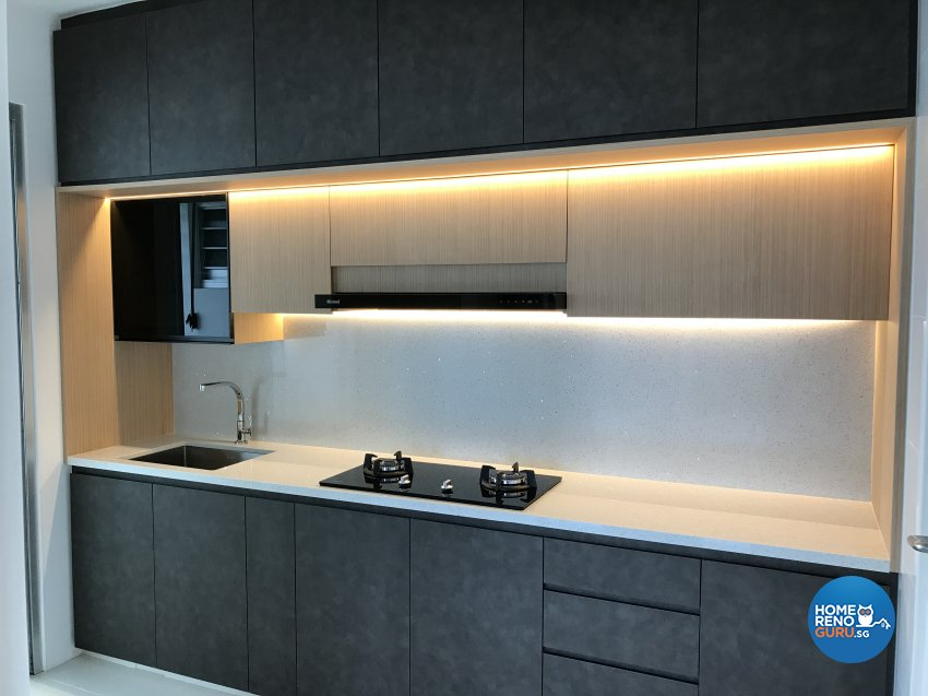 Contemporary, Modern, Scandinavian Design - Kitchen - HDB 4 Room - Design by E+e Design & Build