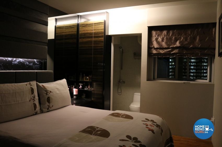 Contemporary Design - Bedroom - HDB 4 Room - Design by E+e Design & Build