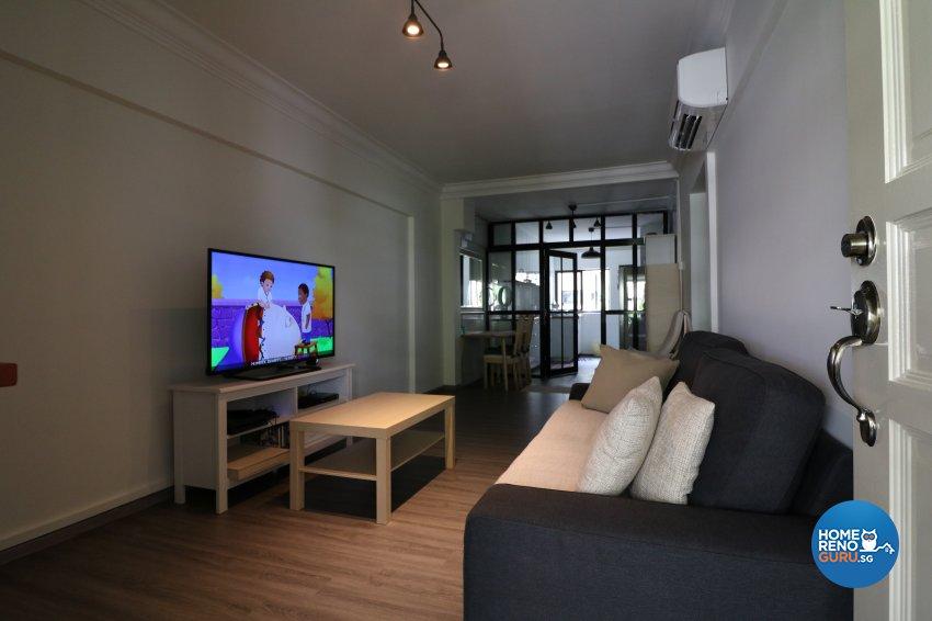 Contemporary, Modern Design - Living Room - HDB 3 Room - Design by E+e Design & Build