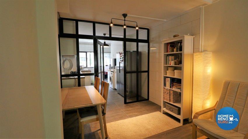 Contemporary, Modern Design - Dining Room - HDB 3 Room - Design by E+e Design & Build
