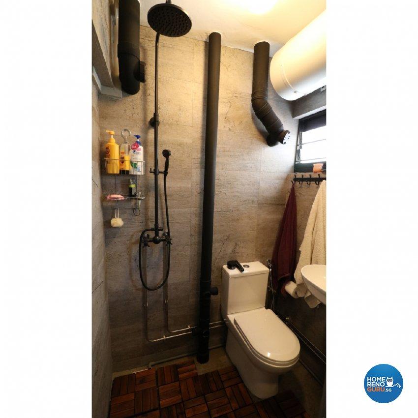 Contemporary, Modern Design - Bathroom - HDB 3 Room - Design by E+e Design & Build