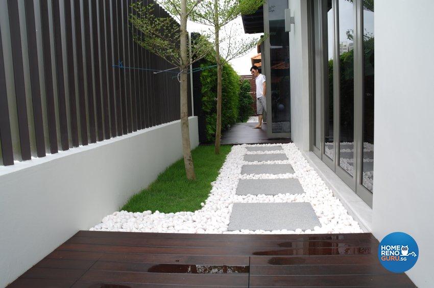 Contemporary, Modern Design - Garden - Landed House - Design by E+e Design & Build