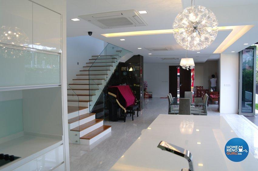 Contemporary, Modern Design - Kitchen - Landed House - Design by E+e Design & Build