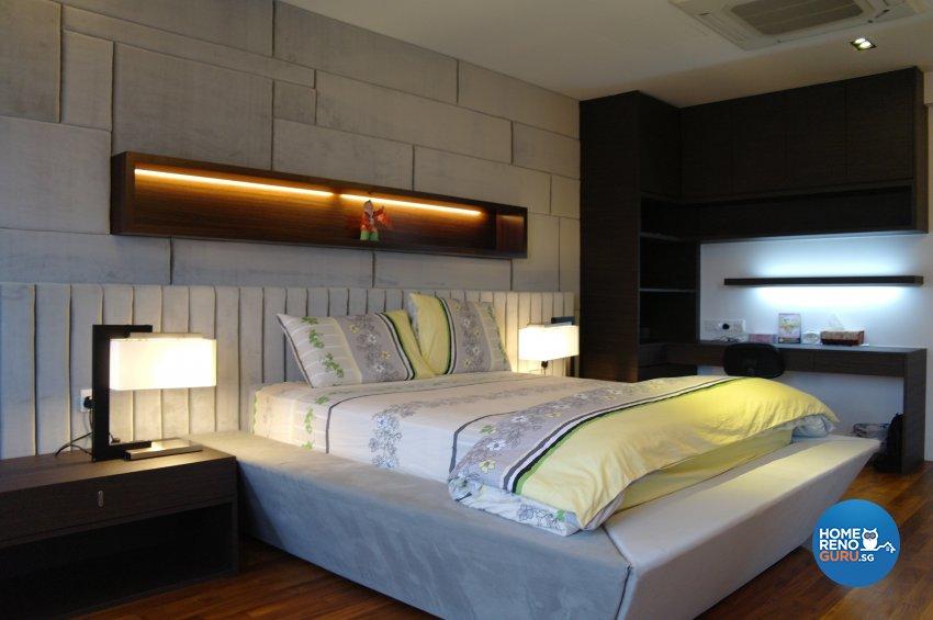 Contemporary, Modern Design - Bedroom - Landed House - Design by E+e Design & Build