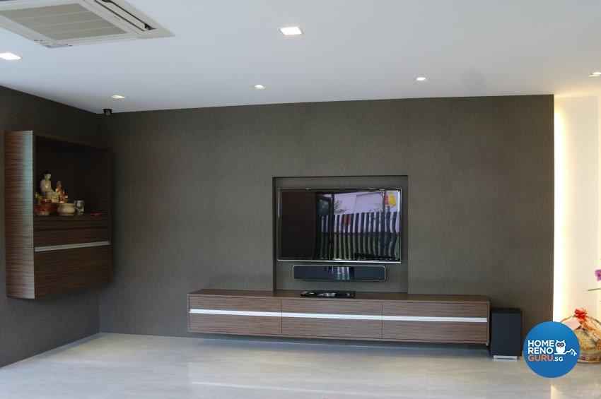 Contemporary, Modern Design - Living Room - Landed House - Design by E+e Design & Build