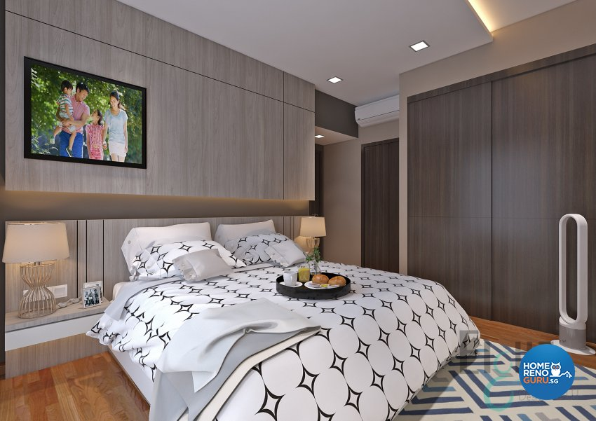 Contemporary, Modern, Others Design - Bedroom - Condominium - Design by Eight Design Pte Ltd
