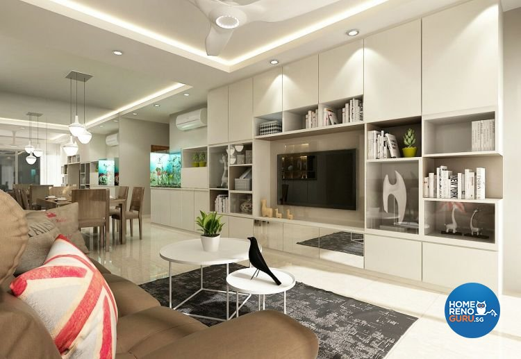 Eight Design Pte Ltd-HDB 5-Room package