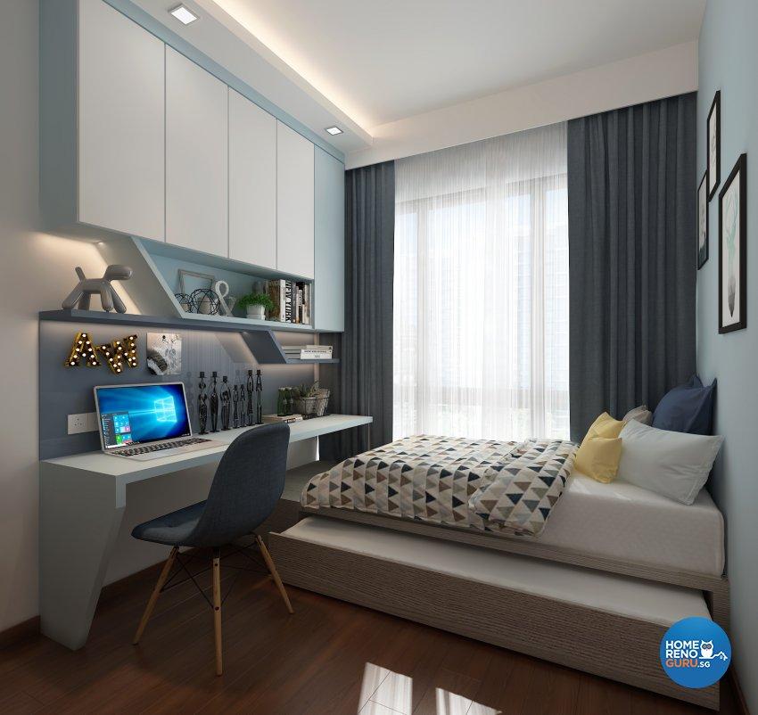 Contemporary, Modern, Others Design - Bedroom - Condominium - Design by Eight Design Pte Ltd