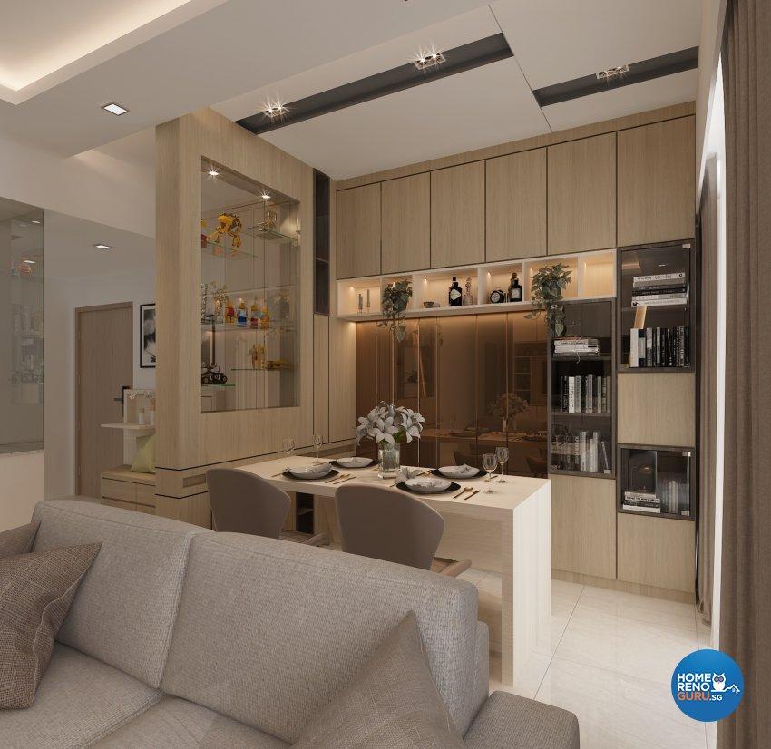 Contemporary, Modern, Others Design - Dining Room - Condominium - Design by Eight Design Pte Ltd