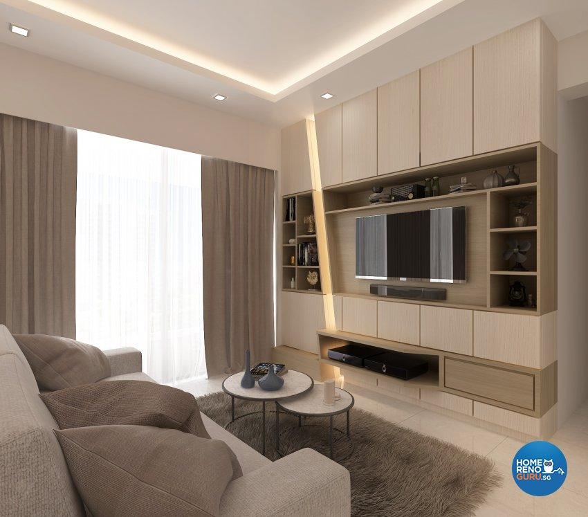 Contemporary, Modern, Others Design - Living Room - Condominium - Design by Eight Design Pte Ltd