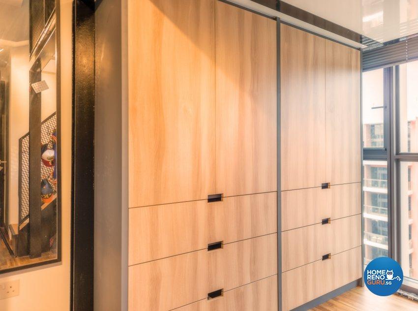 Contemporary Design - Bedroom - Condominium - Design by Einstein Studio Pte Ltd