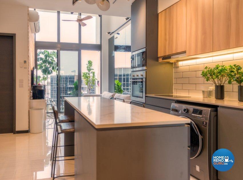 Contemporary Design - Kitchen - Condominium - Design by Einstein Studio Pte Ltd
