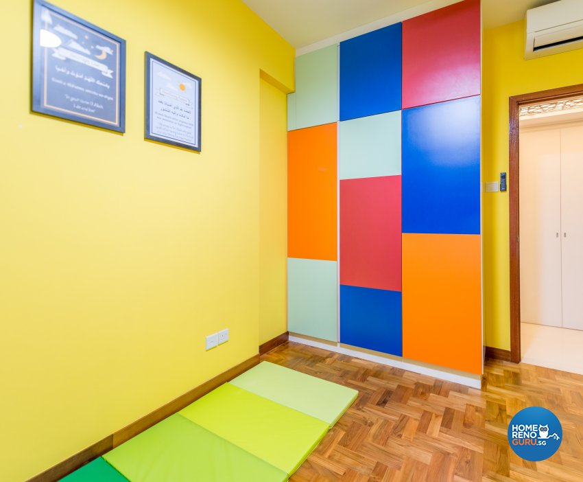Modern, Rustic Design - Bedroom - Condominium - Design by Einstein Studio Pte Ltd