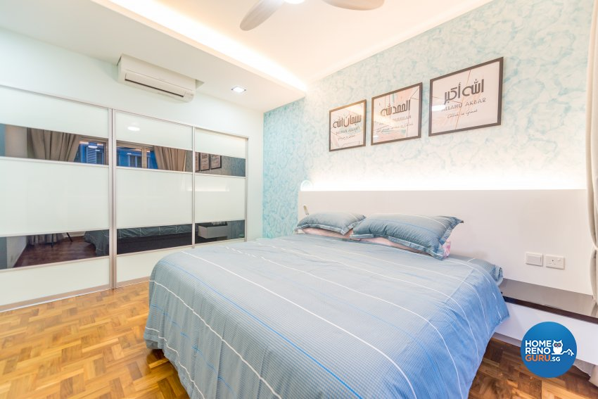 Modern, Rustic Design - Bedroom - Condominium - Design by Einstein Studio Pte Ltd