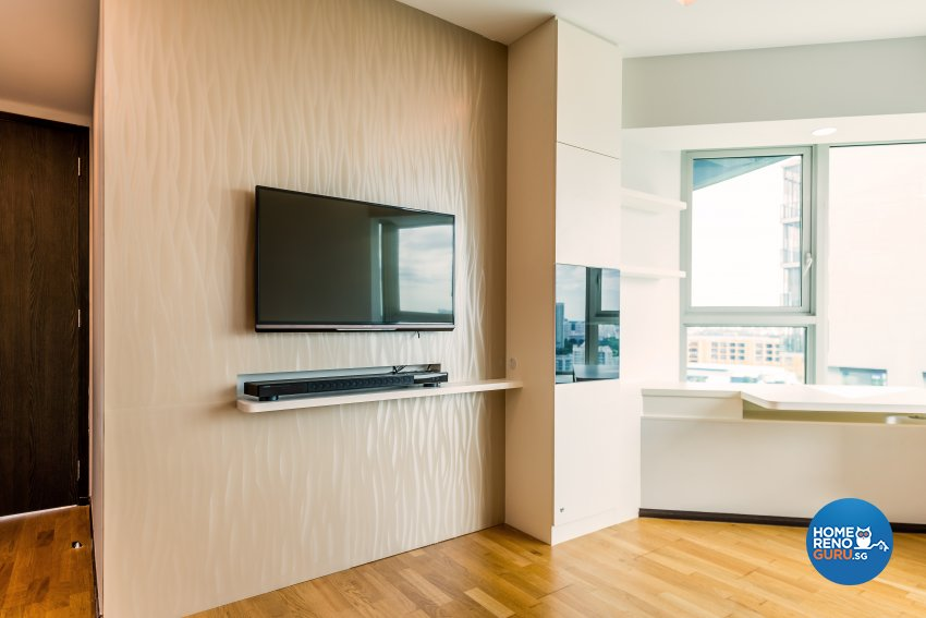 Contemporary, Modern Design - Bedroom - Condominium - Design by Einstein Studio Pte Ltd