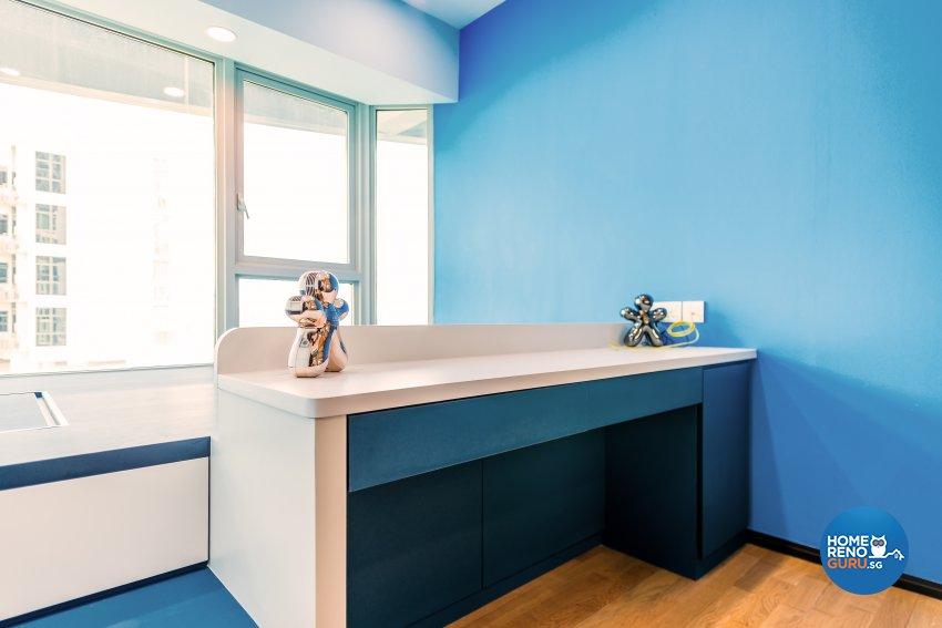 Contemporary, Modern Design - Bedroom - Condominium - Design by Einstein Studio Pte Ltd