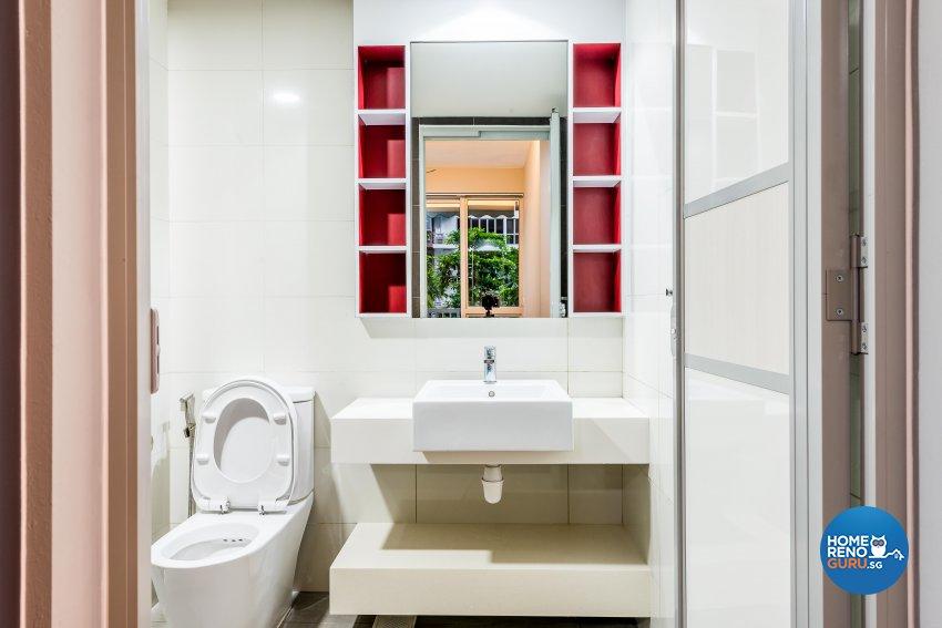 Modern Design - Bathroom - Condominium - Design by Einstein Studio Pte Ltd