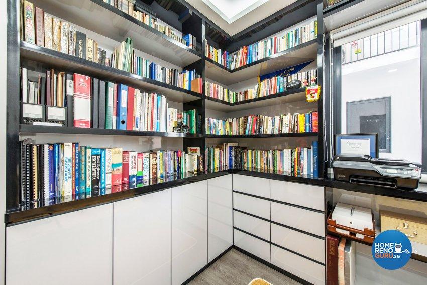 Modern Design - Study Room - Condominium - Design by Einstein Studio Pte Ltd